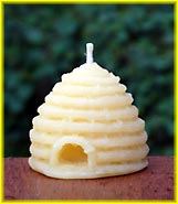 Small Skep candle